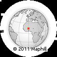 Outline Map of Gorgadji