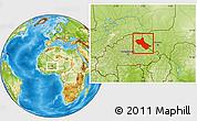 Physical Location Map of Seno