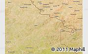 Satellite 3D Map of Sebba