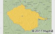 Savanna Style 3D Map of Sebba