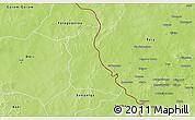 Physical 3D Map of Seytenga