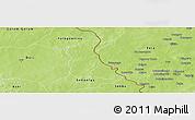 Physical Panoramic Map of Seytenga