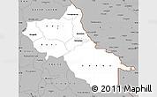 Gray Simple Map of Seno