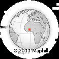 Outline Map of Bougnounou