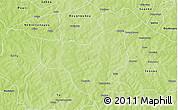 Physical 3D Map of Cassou