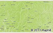 Physical 3D Map of Fara