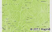 Physical Map of Fara
