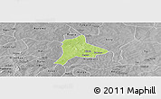Physical Panoramic Map of Fara, desaturated