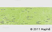 Physical Panoramic Map of Fara