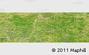 Satellite Panoramic Map of Fara