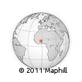Outline Map of Leo