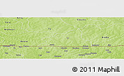 Physical Panoramic Map of Leo