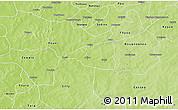 Physical 3D Map of Nebielianayou
