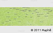 Physical Panoramic Map of Nebielianayou