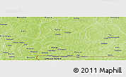 Physical Panoramic Map of Niabouri