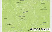 Physical 3D Map of Aribinda