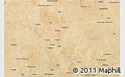 Satellite 3D Map of Aribinda