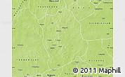 Physical Map of Aribinda