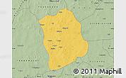Savanna Style Map of Aribinda
