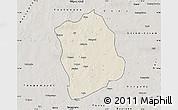 Shaded Relief Map of Aribinda, semi-desaturated