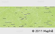 Physical Panoramic Map of Aribinda