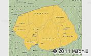 Savanna Style Map of Soum