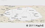 Classic Style Panoramic Map of Soum