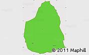 Political Simple Map of Tongomayel, cropped outside