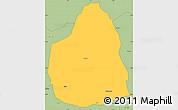 Savanna Style Simple Map of Tongomayel