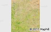Satellite 3D Map of Sourou