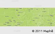Physical Panoramic Map of Gassan