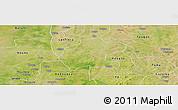Satellite Panoramic Map of Gassan