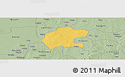 Savanna Style Panoramic Map of Gassan