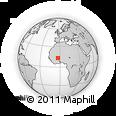 Outline Map of Kassoum
