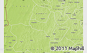 Physical Map of Kiembara