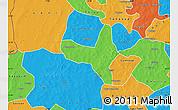 Political Map of Kiembara