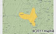 Savanna Style Map of Kiembara
