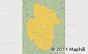 Savanna Style Map of Sourou