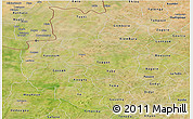 Satellite Panoramic Map of Sourou
