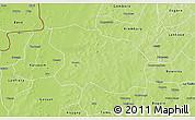 Physical 3D Map of Tougan