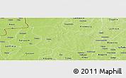 Physical Panoramic Map of Tougan