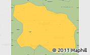 Savanna Style Simple Map of Tougan