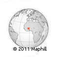 Outline Map of Yaba
