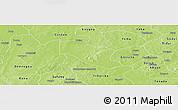 Physical Panoramic Map of Ye