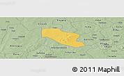 Savanna Style Panoramic Map of Ye