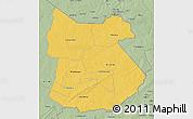 Savanna Style 3D Map of Tapoa