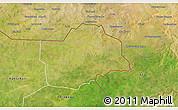 Satellite 3D Map of Botou