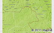 Physical Map of Botou