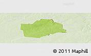Physical Panoramic Map of Botou, lighten