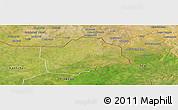 Satellite Panoramic Map of Botou